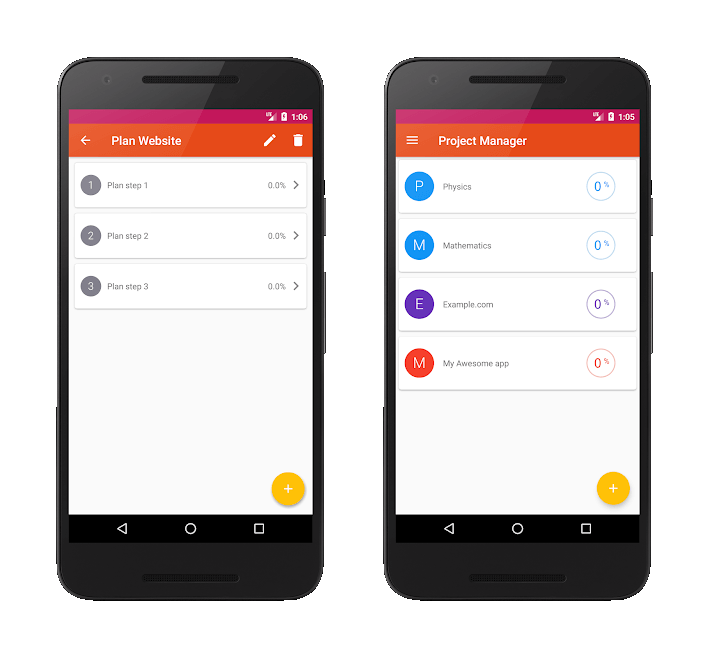 best project management apps for android project manager in-app
