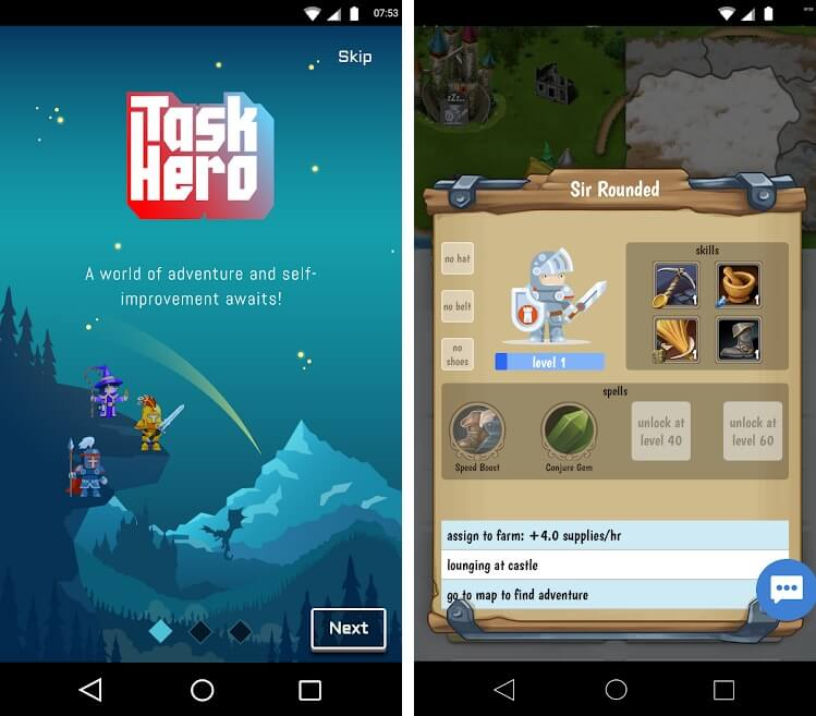 best project management apps for android task hero in-app