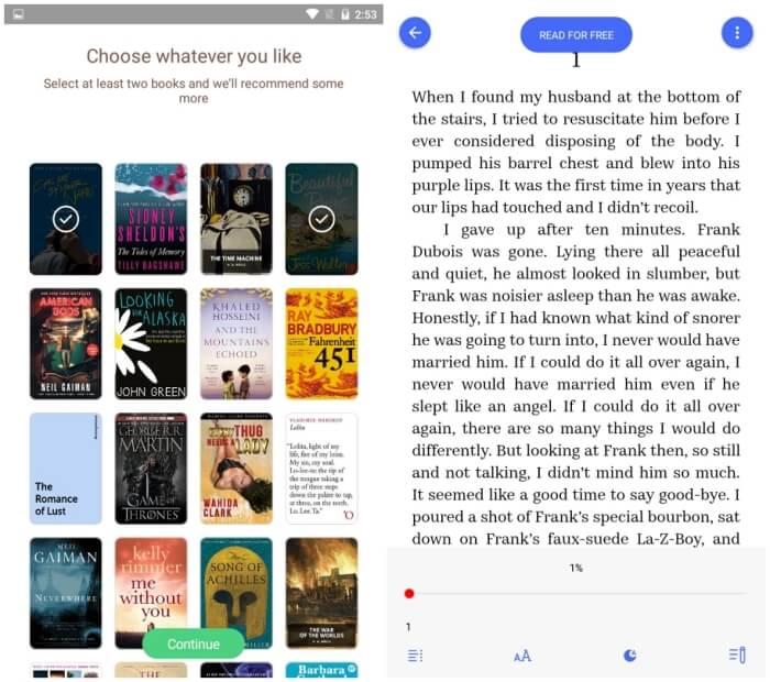 Bookmate - Best eBook Reader Apps