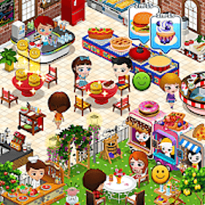 Cafeland Logo - Restaurant Building Games