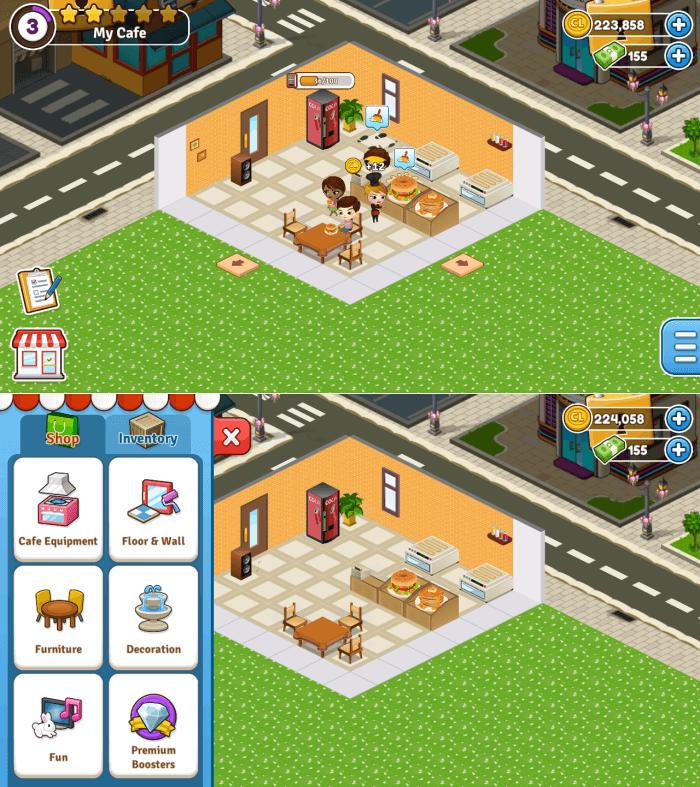 Cafeland - Restaurant Building Games