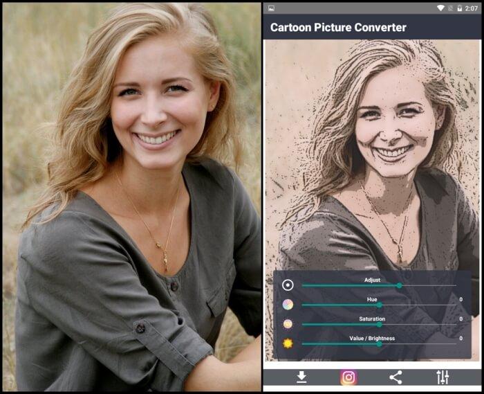 Cartoon Photo Editor - Cartoon Picture Apps