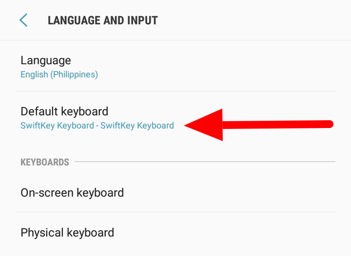 How To Change Your Keyboard on Android - Default