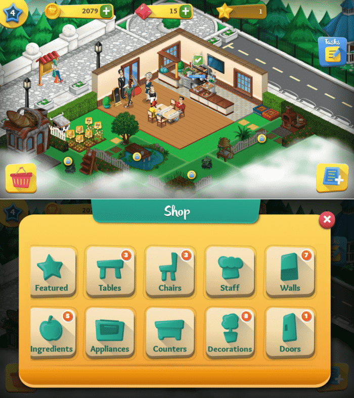 Chef Town - Restaurant Building Games