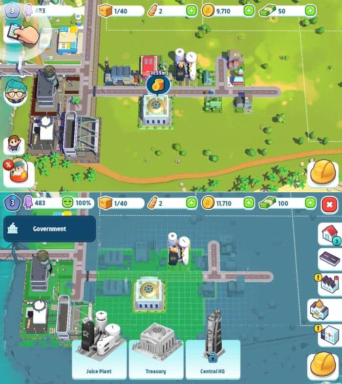 City Mania: Town Building Game - Best Building Games for Android