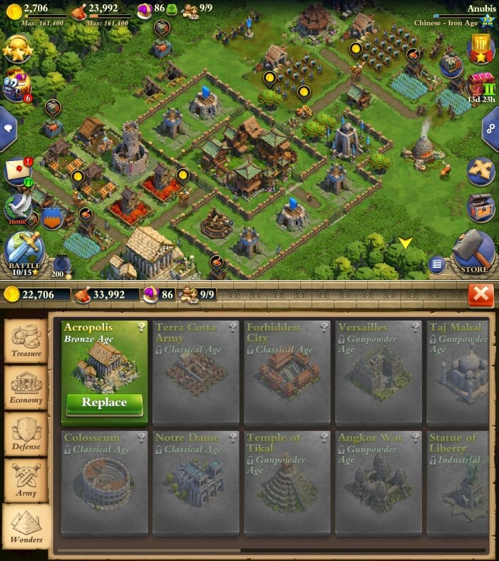 DomiNations - Best Building Games for Android