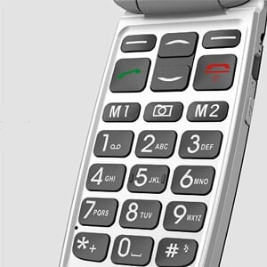 Easyfone Unlocked Senior Cell Phone - Best Cell Phone for Seniors with Dementia