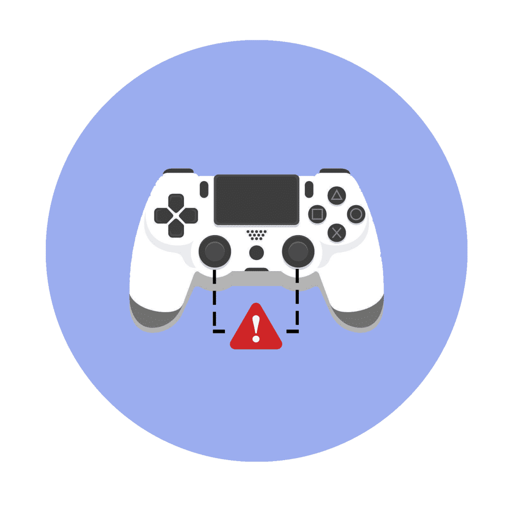 Damaged Dual Shock problems with the PS4