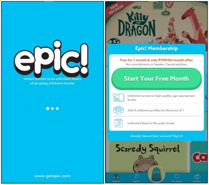 Epic! - Best eBook Reader Apps