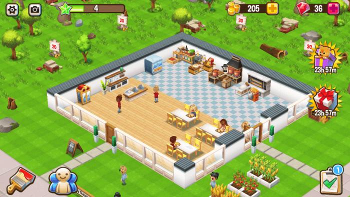 Food Street - Restaurant Building Games
