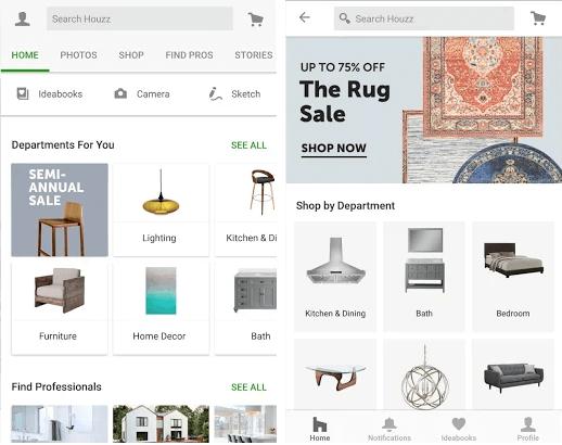 furniture design apps houzz 1