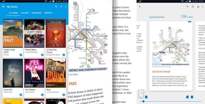 Google Play Books - Best eBook Reader Apps