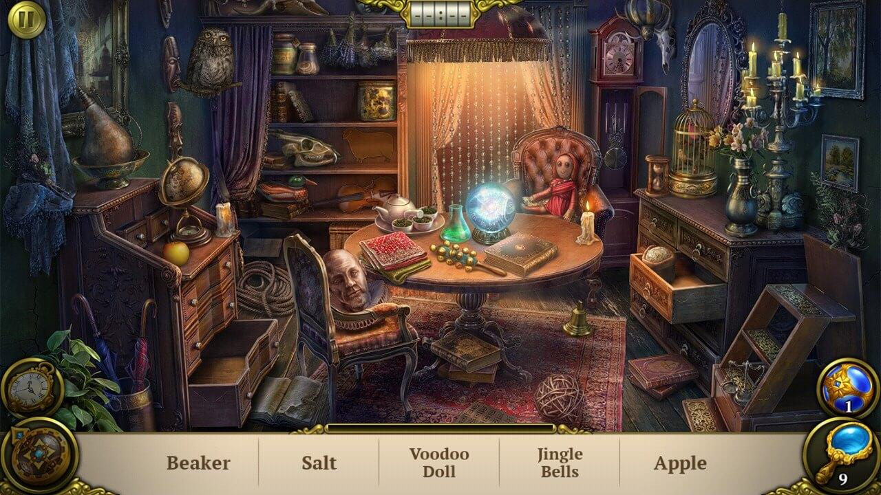 Hidden Object Games for Android - Hidden City Scene