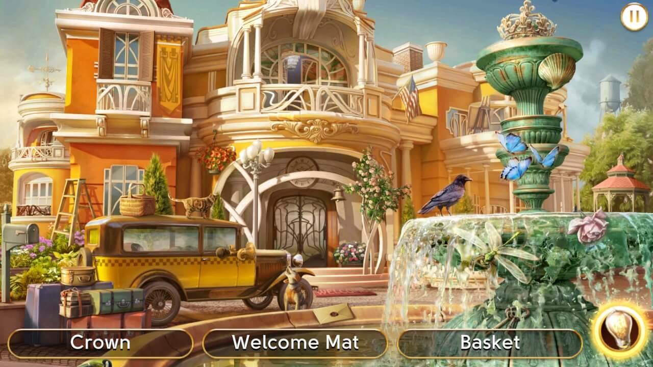 Hidden Object Games for Android - June's Journey Scene 1