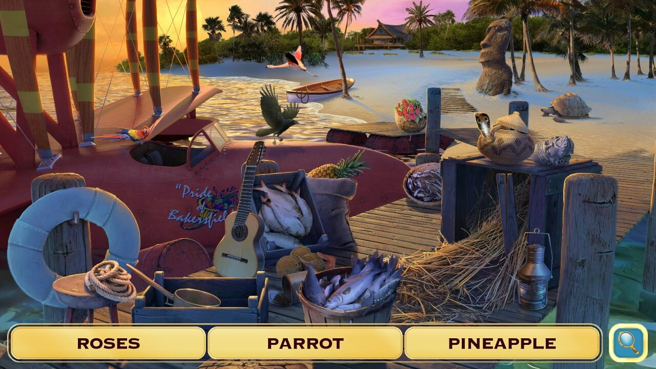 Hidden Object Games for Android - Pearl's Peril Scene
