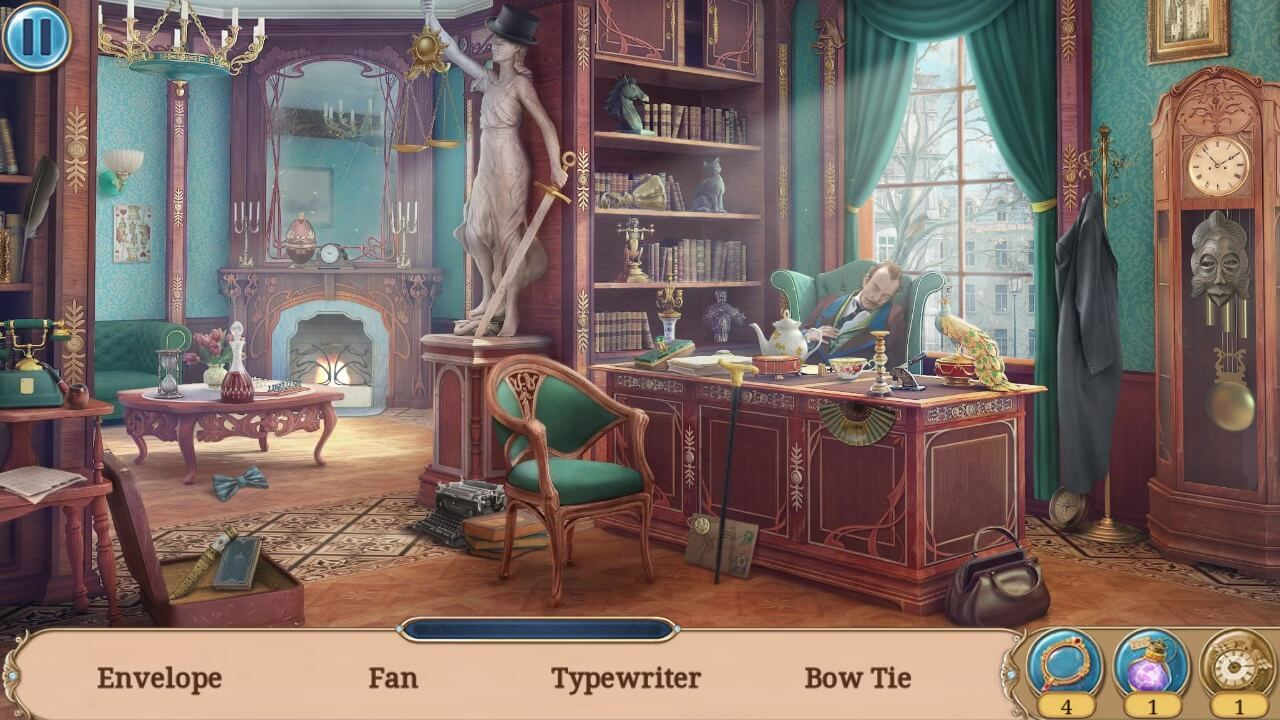 Hidden Object Games for Android - Seeker's Notes Scene