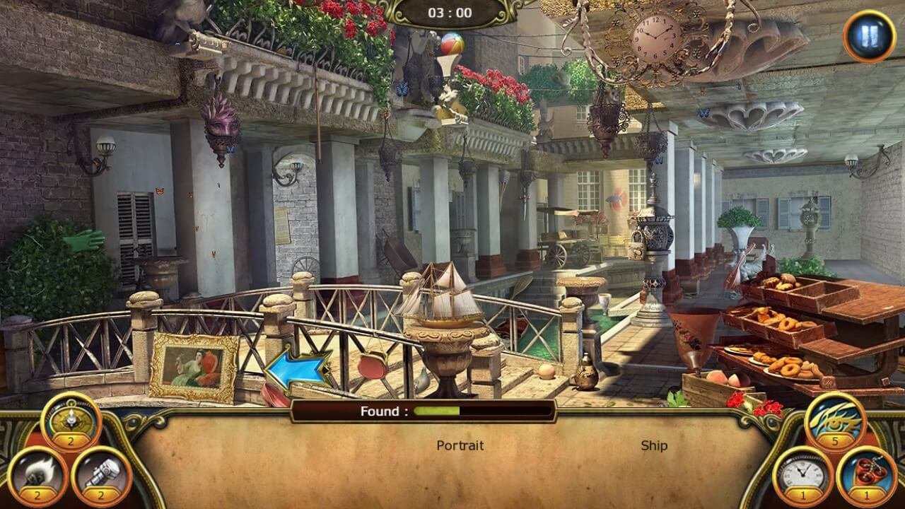 Hidden Object Games for Android - The Secret Society Scene