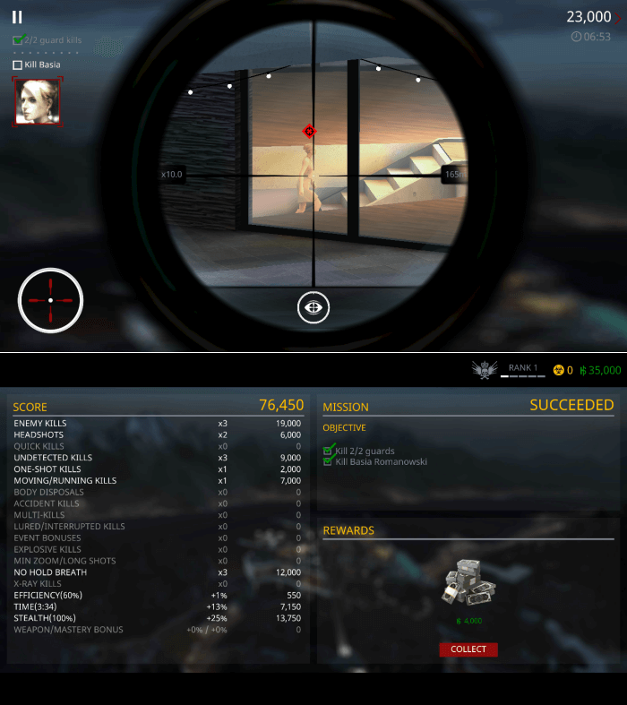 Hitman Sniper Gameplay - Sniper Games for Android