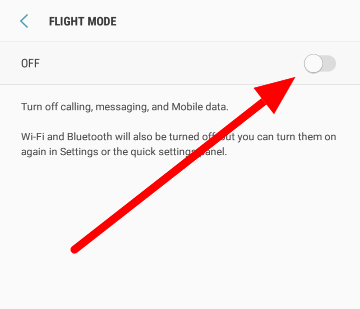 how-to-fix-no-sim-card-emergency-calls-only-toggle-airplane-mode