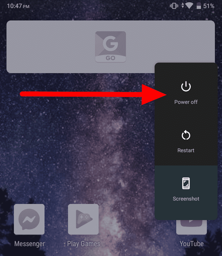 How To Turn Off Safe Mode on Android - Power Off