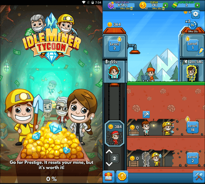 Idle Miner Tycoon Gameplay - Best Idle Games