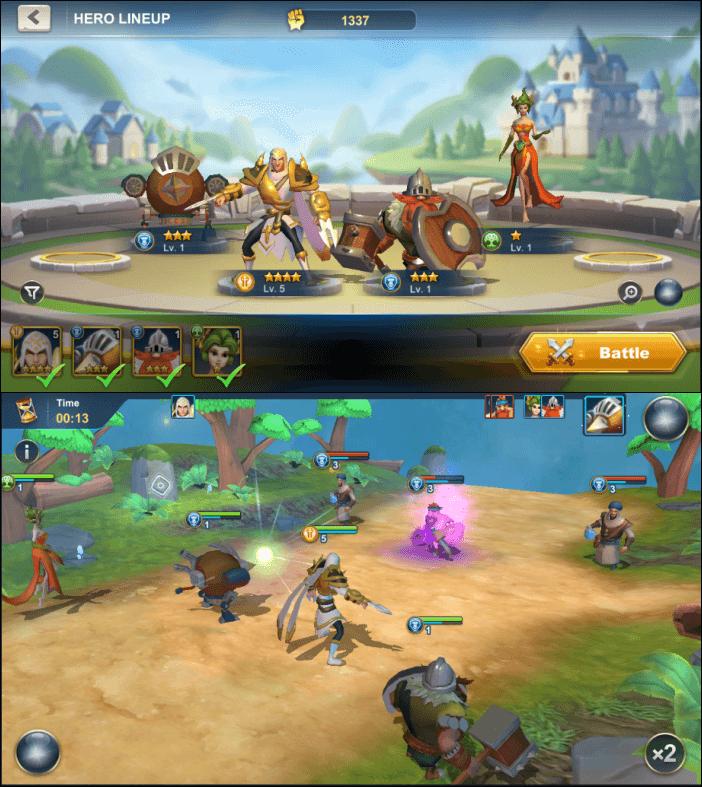 Idle War Legendary Heroes Gameplay - Best Idle Games