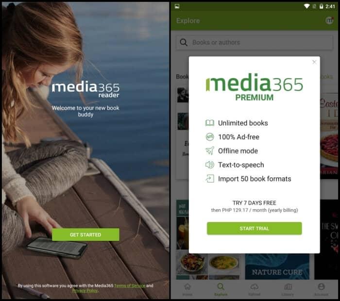 Media365 - Best eBook Reader Apps