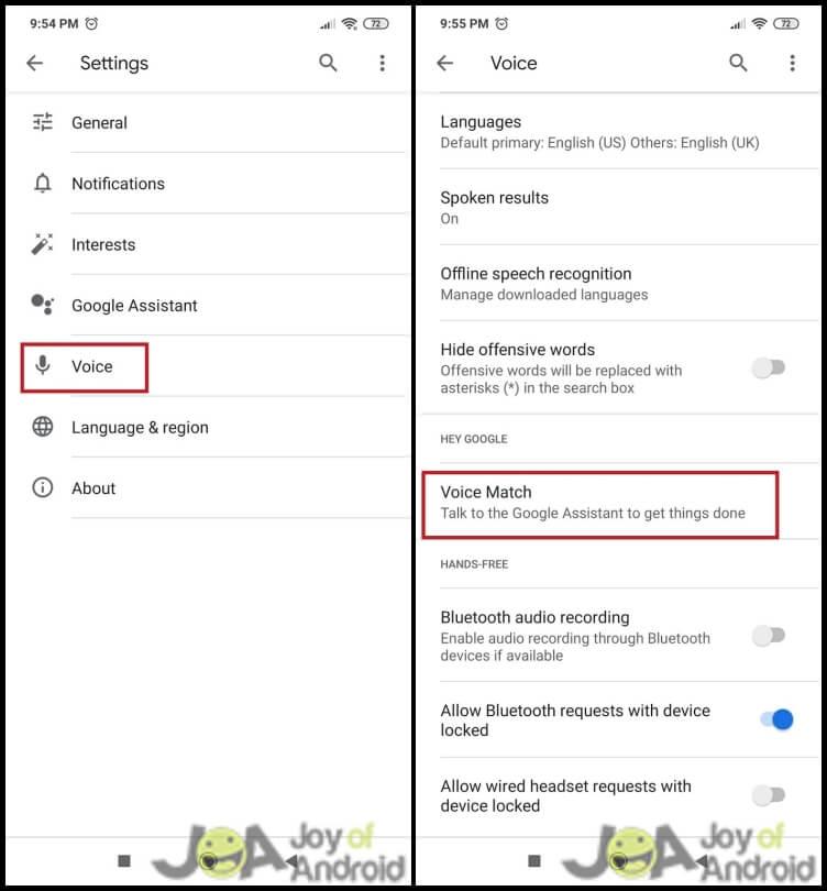 Method 1: Turn Off OK Google - Step 4