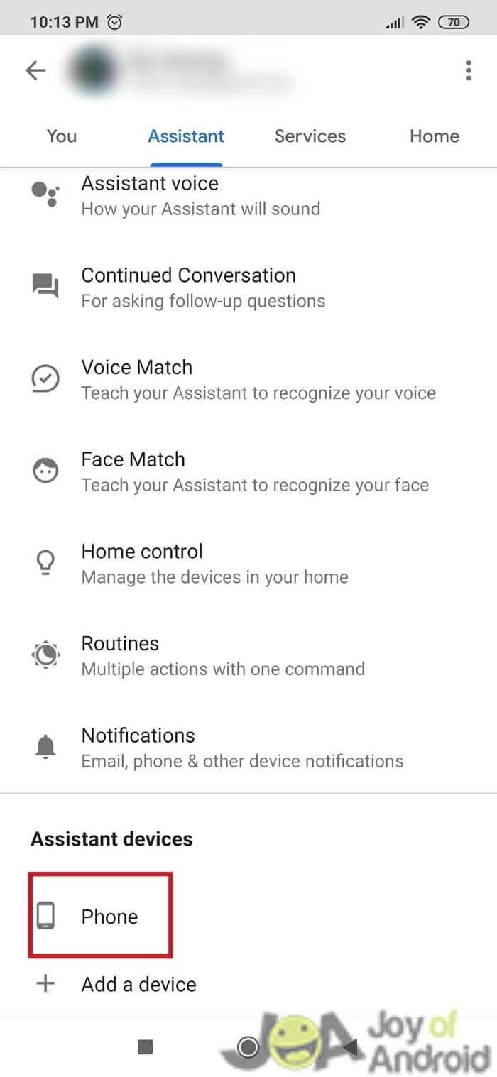 Method 2: Turn Off OK Google - Step 5