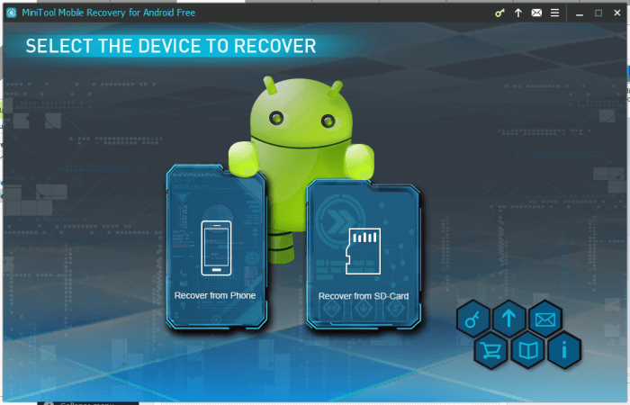 MiniTool - Recover Deleted Files on Android