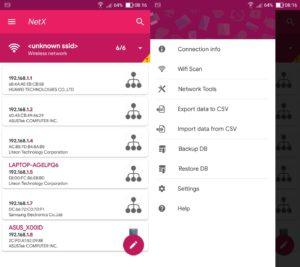 netx-network-wifi analyzer