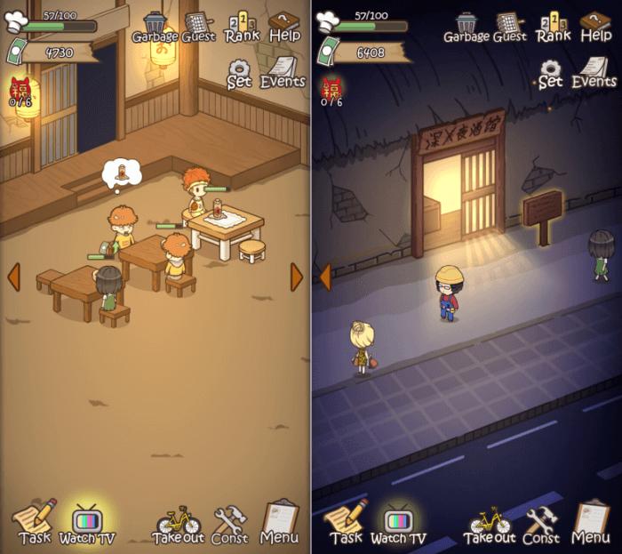 Night Restaurant - Restaurant Building Games