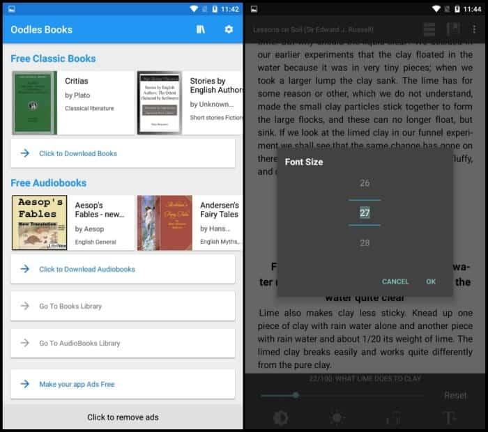 Oodles Books - Best eBook Reader Apps