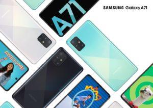Samsung Galaxy A71 features four rear cameras