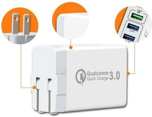 Redmi Note 7 Problems - 3Port QC3.0 USB Fast Wall Charger