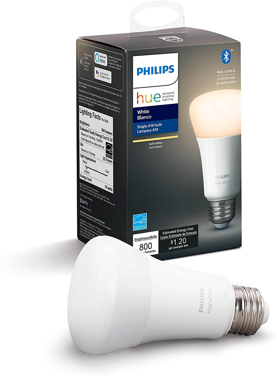 smart gadget philips hue light bulb