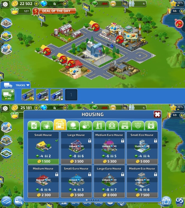 Virtual City Playground - Best Building Games for Android