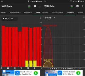 wifi data analyzer