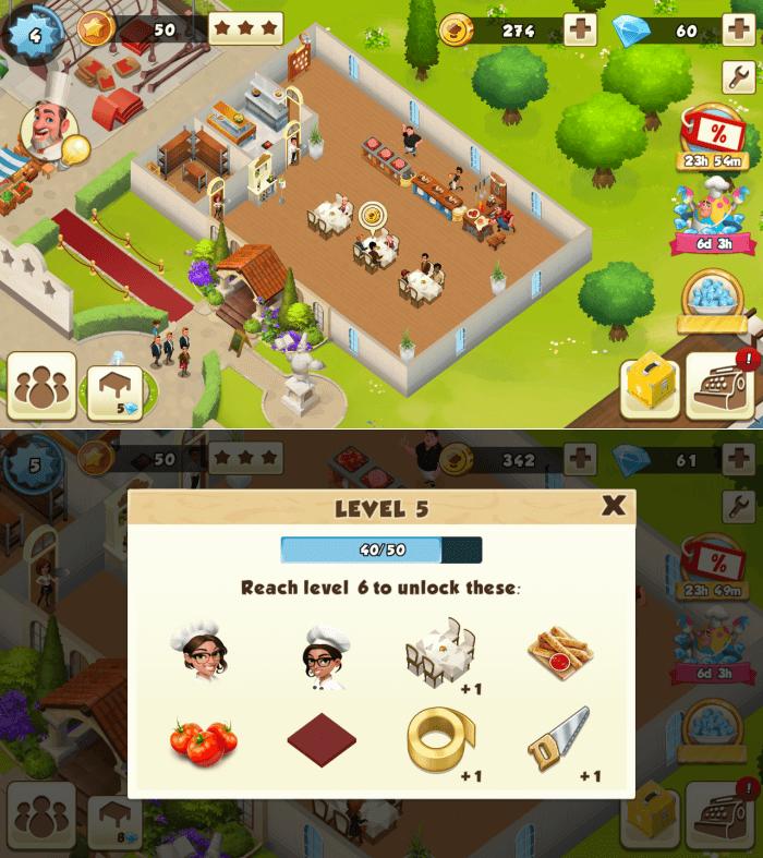 World Chef - Restaurant Building Games