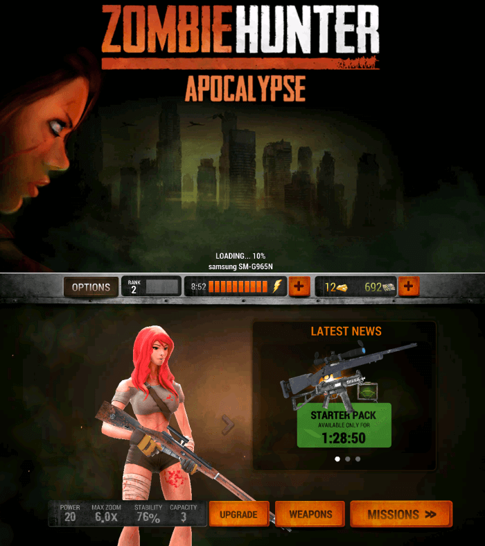 Zombie Hunter Sniper Gameplay - Sniper Games for Android