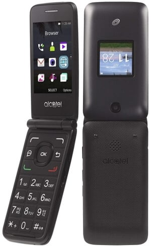 Best Cell Phones for Kids - Tracfone Alcatel MyFlip
