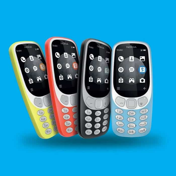 Best Cell Phones for Kids - Nokia 3310 3G