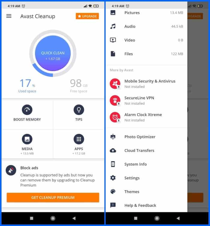 Best Phone Cleaner Apps for Android - Avast Cleanup