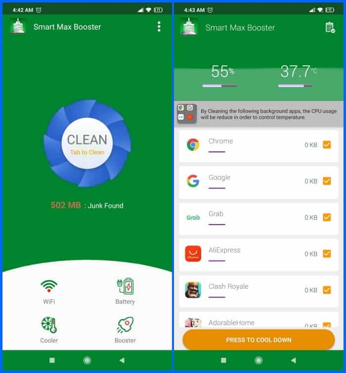 Best Phone Cleaner Apps for Android - Fast Booster