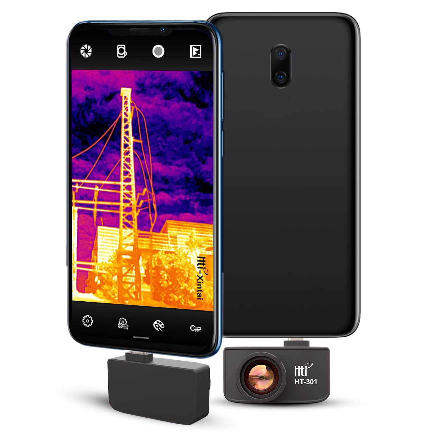 Best Thermal Imaging Camera for Android - HT-301