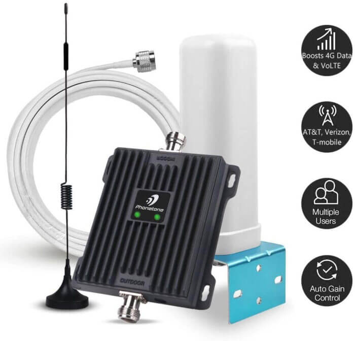 رخيصة إشارة الهاتف الخليوي الداعم - Phonetone ثنائي الموجات 700MHz