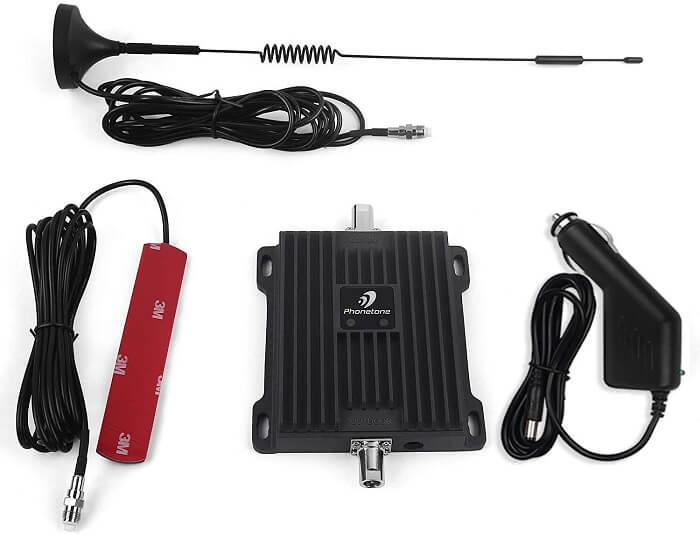 رخيصة الداعم إشارة الهاتف الخليوي - Phonetone المزدوج 700MHz باند الداعم إشارة للسيارة