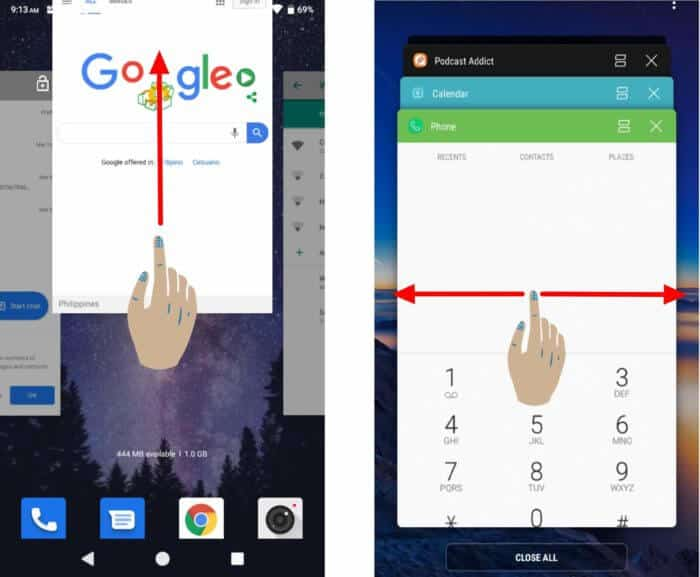 How To Close Apps on an Android Phone - Swipe