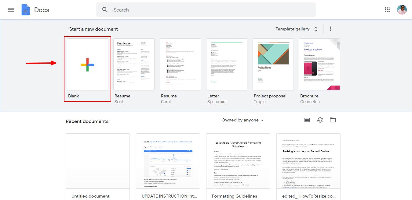 كيفية نسخ ملفات يوتيوب - مستندات فارغة