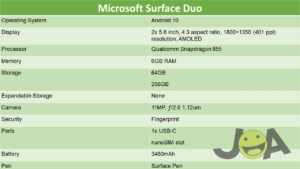 microsoft-surface-duo-specs
